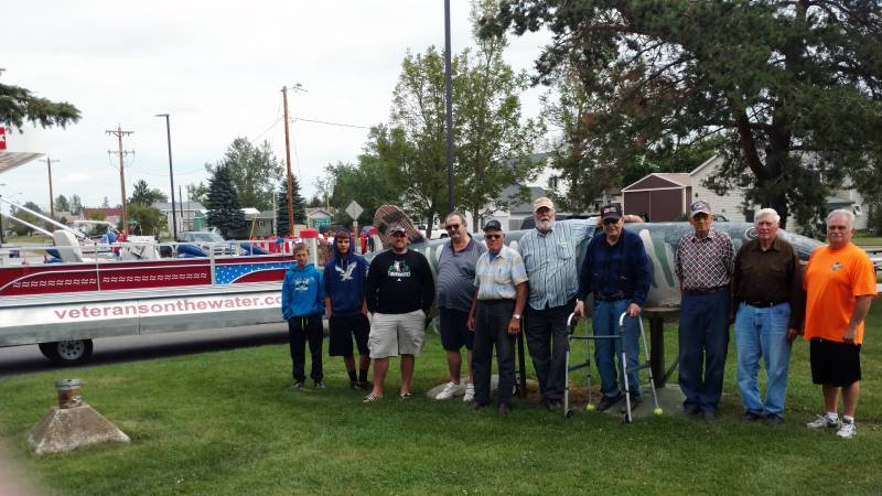 Veterans & Volunteers From Veterans on the Water